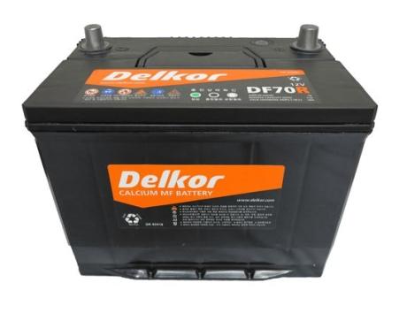 Bình ắc quy DELKOR DF70 R/L (12v-70ah)