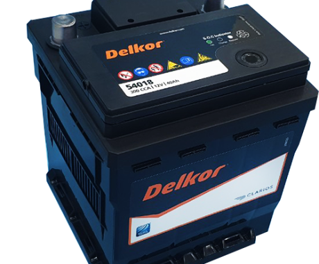 Bình ắc quy DELKOR DIN-54018 12V 40AH