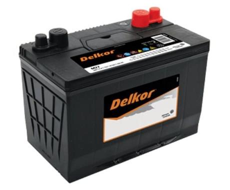 Bình ắc quy DELKOR Din 55565 Cọc xuôi (12V-55ah)