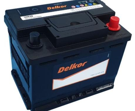 Bình ắc quy DELKOR MF Din 56030 (12V-60ah)