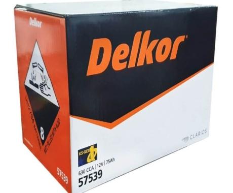 Bình ắc quy DELKOR DIN 57539 (12V-75AH)
